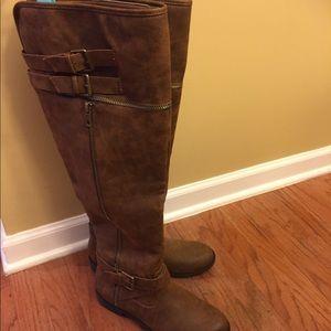 JustFab Tall Flat Boots